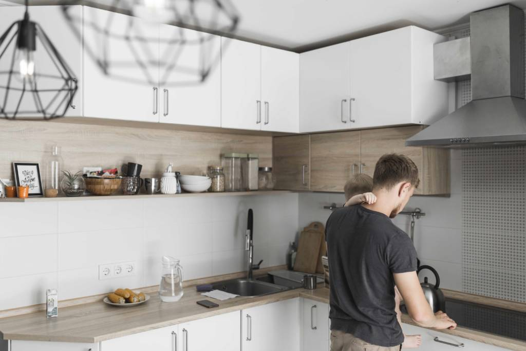How To Transform Dated Kitchen Cabinets With Paint Amerispec Canada